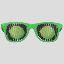 Lime Retro Sunglasses