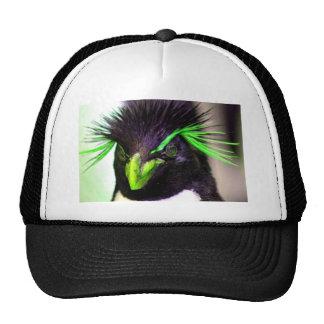 Lime Rockhopper penguin Trucker Hat