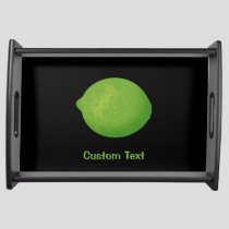 Lime Serving Tray