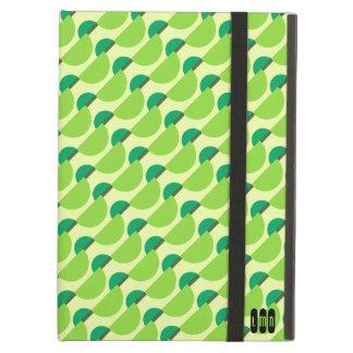 Lime Sherbet Monogram iPad case