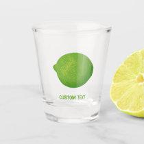 Lime Shot Glass