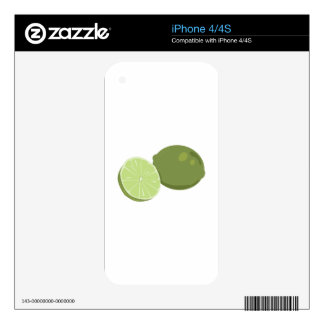 Lime Skin For The iPhone 4