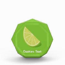 Lime Slice Acrylic Award