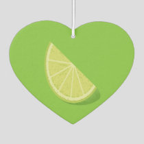 Lime Slice Air Freshener