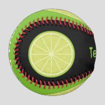 Lime Slice Baseball