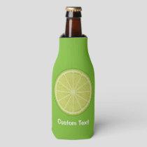 Lime Slice Bottle Cooler