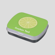 Lime Slice Candy Tin