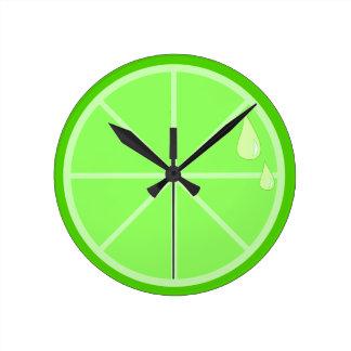 Lime Slice Clock