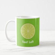 Lime Slice Coffee Mug