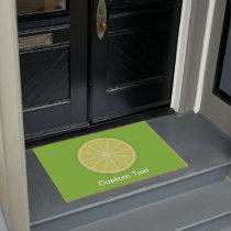 Lime Slice Doormat