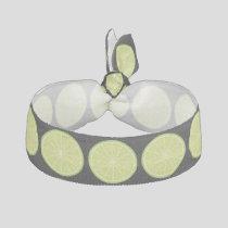 Lime Slice Elastic Hair Tie