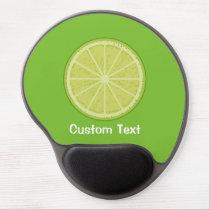 Lime Slice Gel Mouse Pad