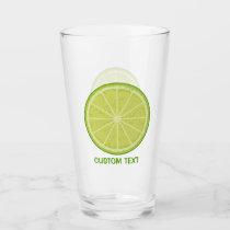Lime Slice Glass