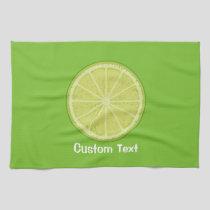 Lime Slice Kitchen Towel