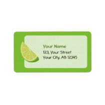 Lime Slice Label