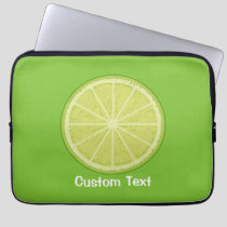 Lime Slice Laptop Sleeve