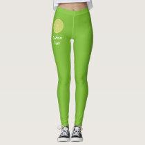 Lime Slice Leggings