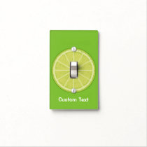 Lime Slice Light Switch Cover
