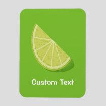 Lime Slice Magnet