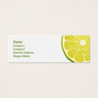 Lime Slice Mini Business Card