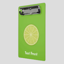 Lime Slice Mini Clipboard