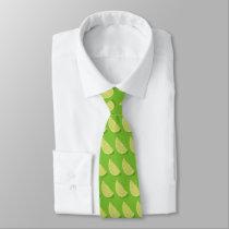 Lime Slice Neck Tie