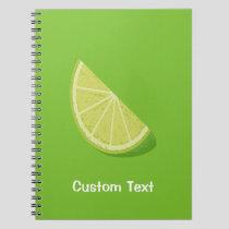 Lime Slice Notebook