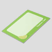 Lime Slice Notepad