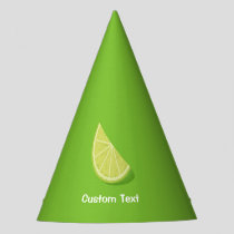 Lime Slice Party Hat