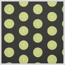 Lime Slice Pattern Fabric