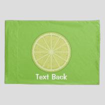 Lime Slice Pillow Case