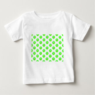 Lime Slice Polka Dots Pattern Baby T-Shirt