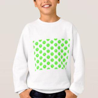 Lime Slice Polka Dots Pattern Sweatshirt