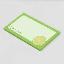 Lime Slice Post-it Notes
