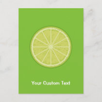 Lime Slice Postcard