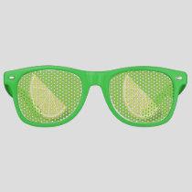 Lime Slice Retro Sunglasses