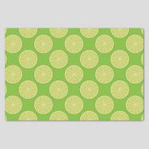 Lime Slice Tissue Paper