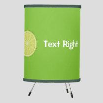 Lime Slice Tripod Lamp
