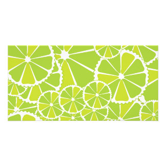 Lime slices card
