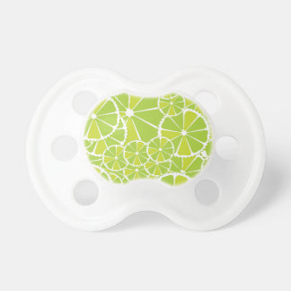 Lime slices pacifier