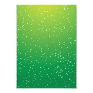 Lime Soda with Tiny Bubbles Background Art Card