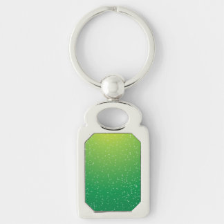 Lime Soda with Tiny Bubbles Background Art Keychain