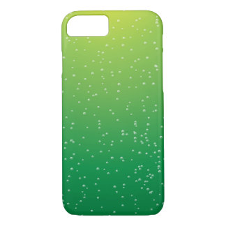 Lime Soda with Tiny Bubbles iPhone 7 Case