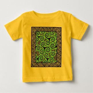 Lime Spirals x3 Baby T-Shirt