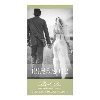 LIME THANK YOU | WEDDING THANK YOU CARD PHOTO CARD