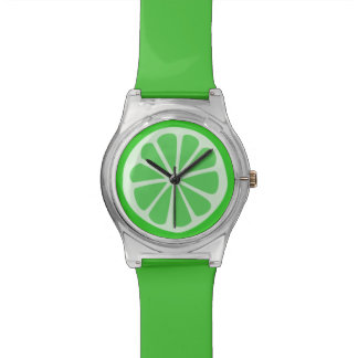 Lime Time Wristwatch