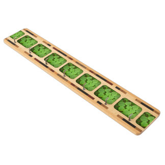 Lime tree leaves key rack