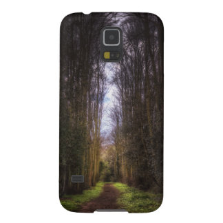 Lime Tree Path Galaxy S5 Case