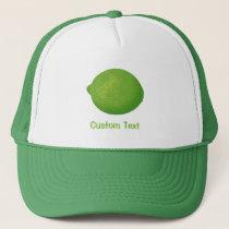 Lime Trucker Hat