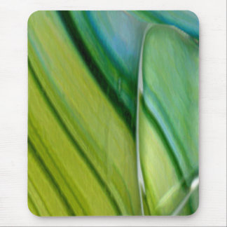 Lime & Turquoise Mouse Pad